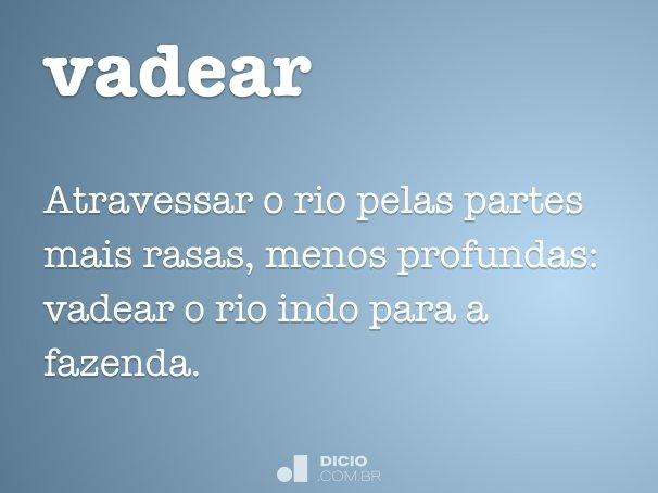 vadear