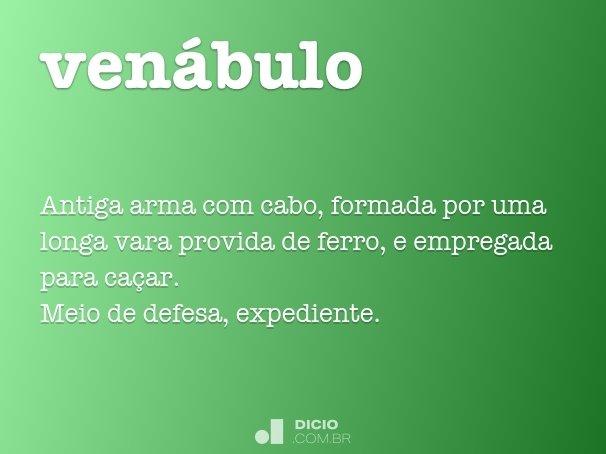 venábulo
