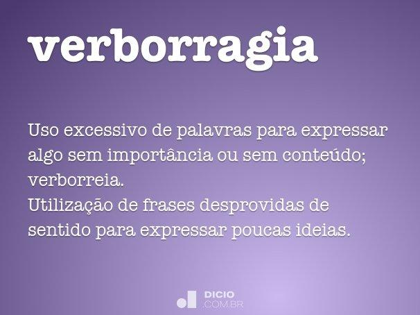 verborragia