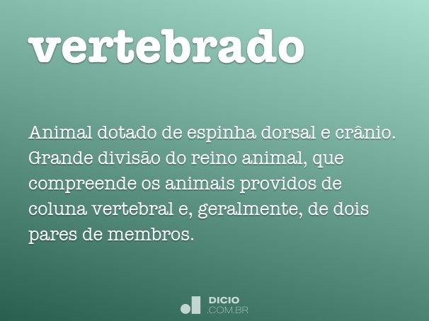 vertebrado