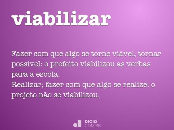 viabilizar