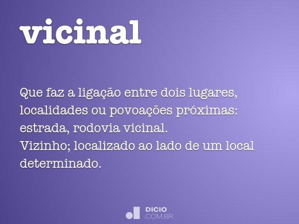 vicinal