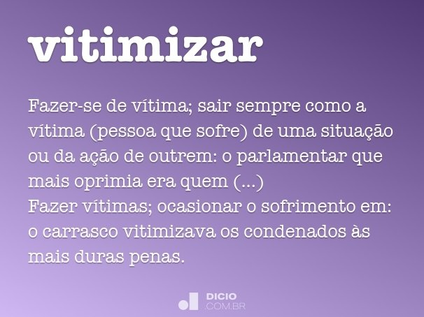 vitimizar