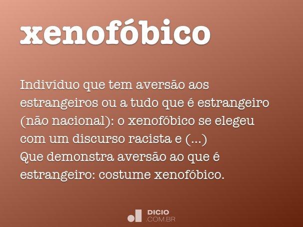 xenof�bico