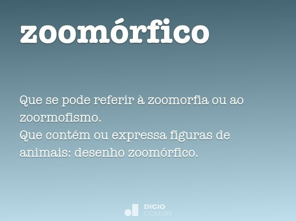 zoomórfico